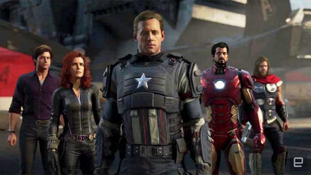 Marvel's Avengers PS 4, Xbox One, PC
