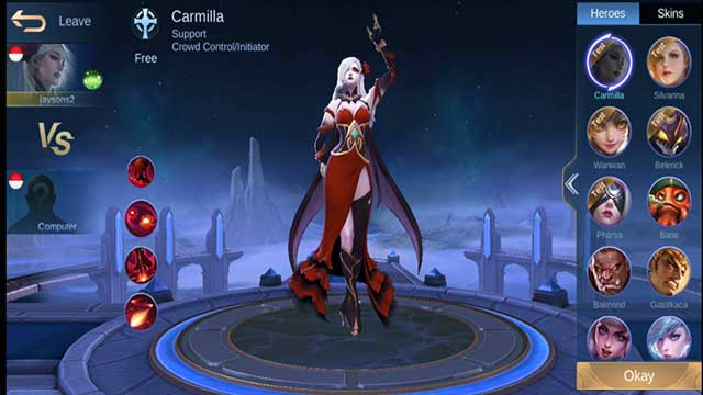 hero carmilla moonton