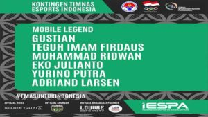kontigen timnas esports indonesia mobile legends