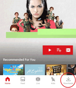 langkah 4 download film di iflix