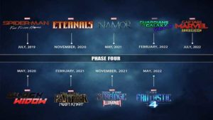 marvel cinematic universe phase 4 disney