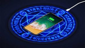 pentagram magic array wireless charger