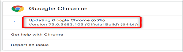 update versi terbaru google chrome