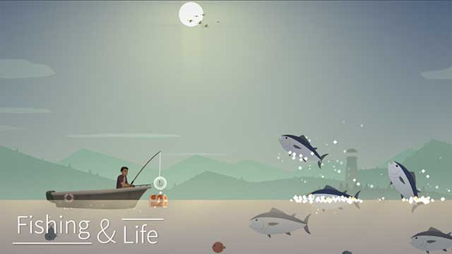 fishing and life game android