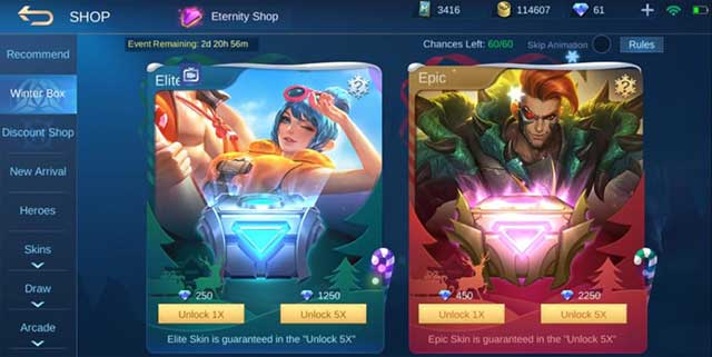 skin gratis mobile legends