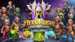 hero rush war of clans