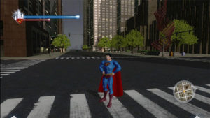 superman returns open world game