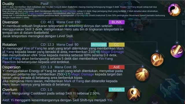 skill yi mobile legends