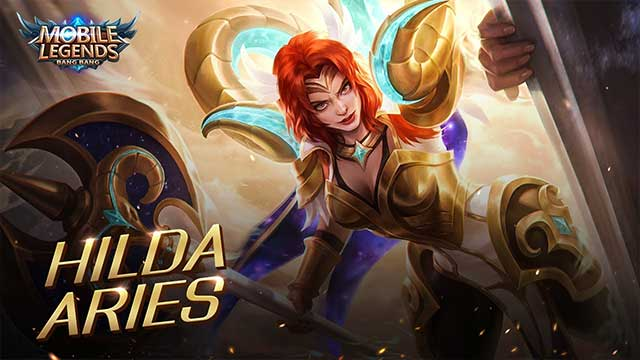 skin aries hilda mobile legends