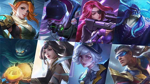 skin mobile legends terbaru april 2020